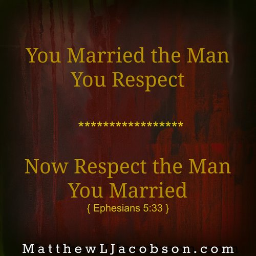 Is Respect A Habit In Your Marriage?