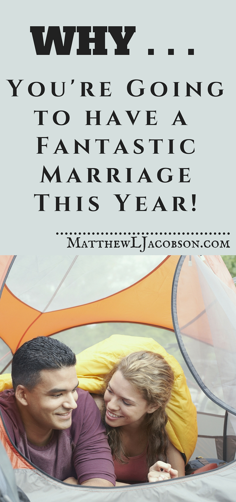 The couple with the fantastic marriage are easy to spot . . . they're happy. They enjoy each other's company. It seems so easy, almost like they just lucked out . . . but they didn't. What do they know that so many miss? Here are 12 reasons you can have a great marriage this year, too! via @faithful_man