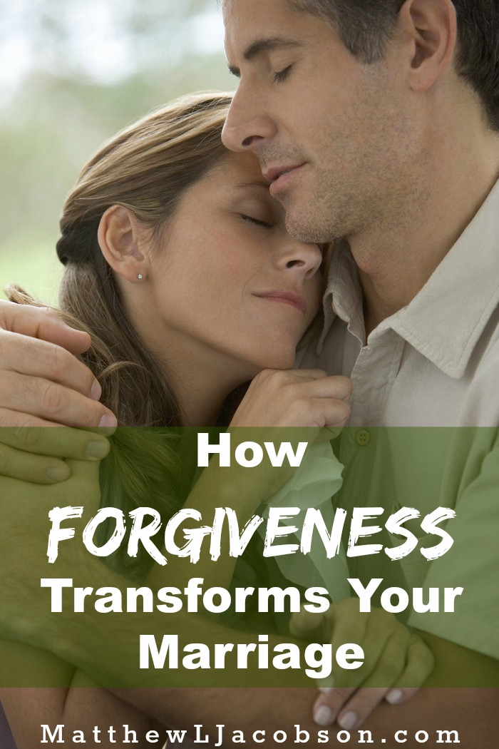 How Offering Forgiveness Transforms Your Marriage via @faithful_man
