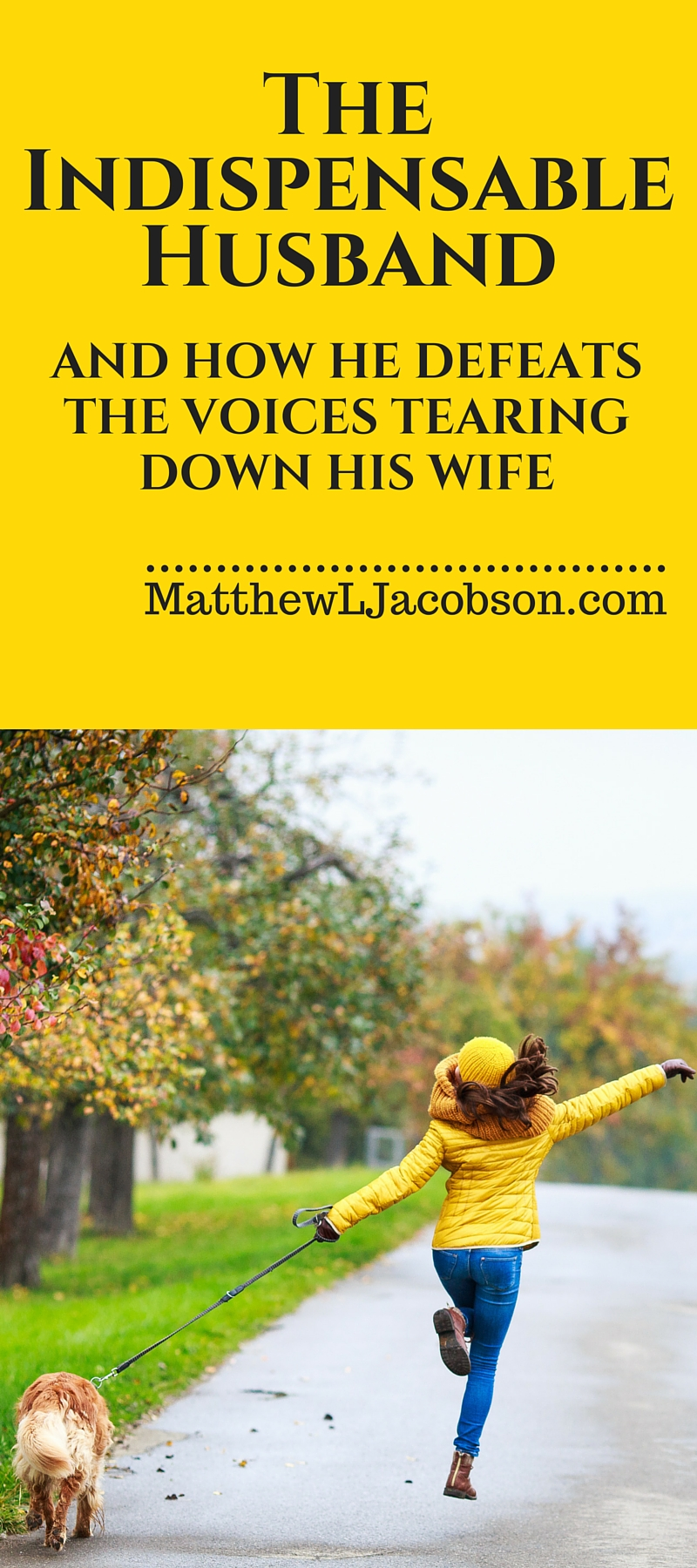 The Indispensable Husband . . . and how he defeats the Voices Tearing Down His Wife {with free printable} via @faithful_man