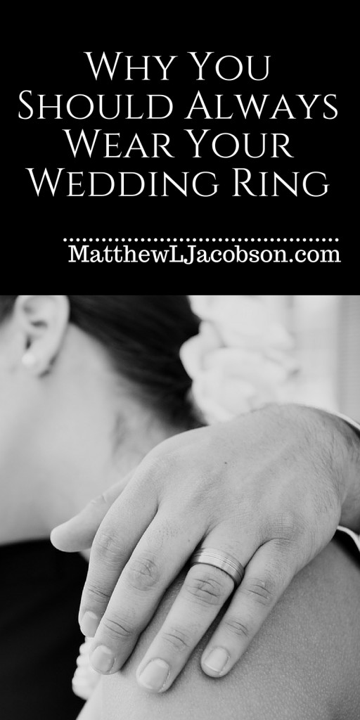 Why you should always wear your wedding ring matthew l for Where should you wear your wedding ring