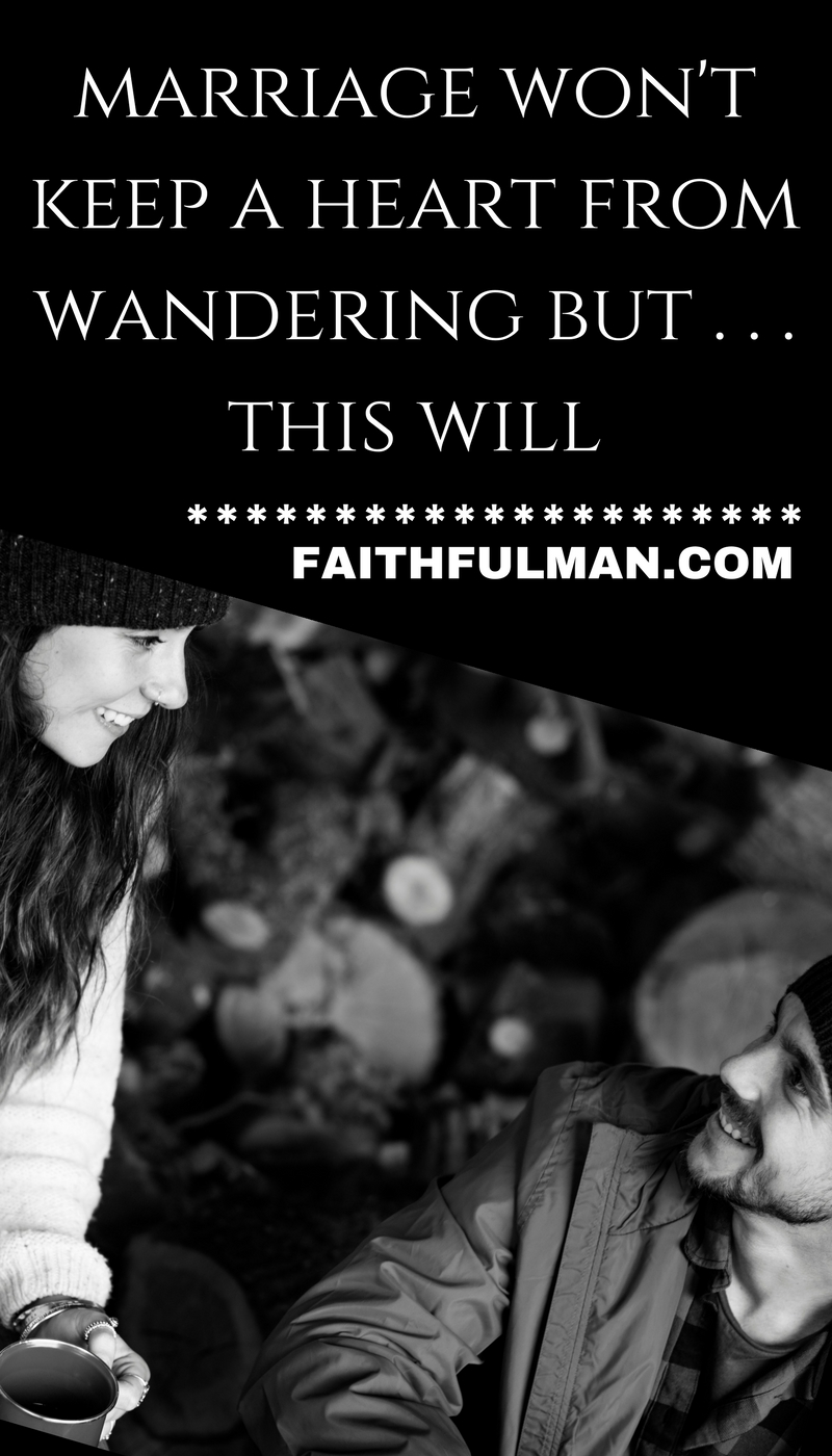 Wandering . . . left to itself, it's what a heart does. Great distances are covered incrementally, over time. What starts out as some minor decision can have a major impact a few years down the road. What can be done? via @faithful_man