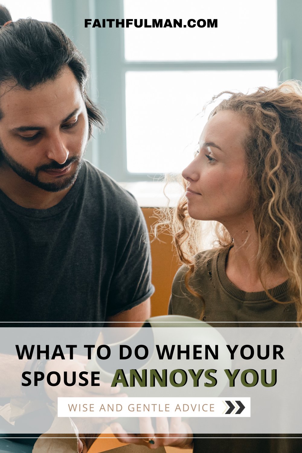In just a few months or years into marriage, those exact same preferences you loved may begin to migrate from endearing to annoying. How did that happen? And what should you do about them? Click here. via @faithful_man