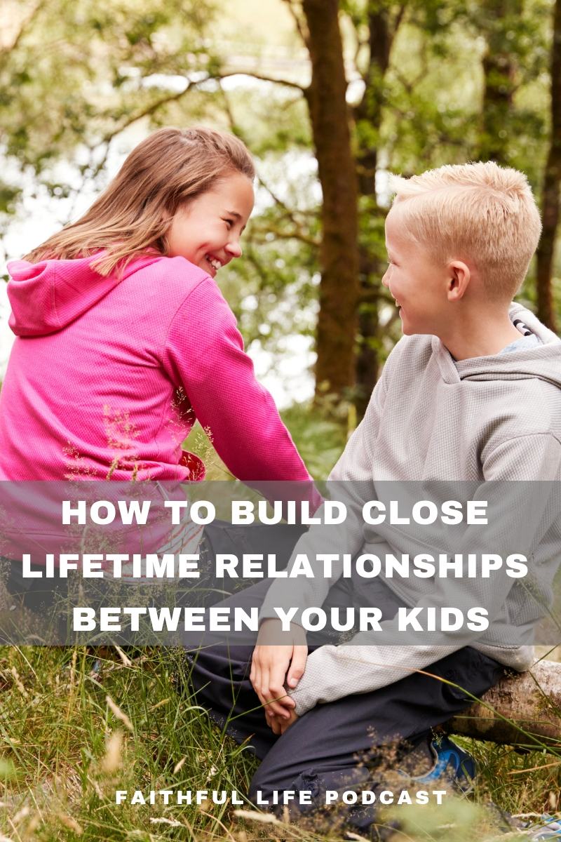 """Do you want a tight-knit loving family? Do You want your kids to love each other? Being close won't happen by itself. Just about everything in life leads to independence and away from unity in family relationships. Do you have the growing, close, loving family you desire? Listen to this Faithful Life Podcast episode on """"How to Cultivate the Loving Family You Desire"""". Real-life, practical examples and instruction on how to pursue becoming a close family for life. via @faithful_man"""