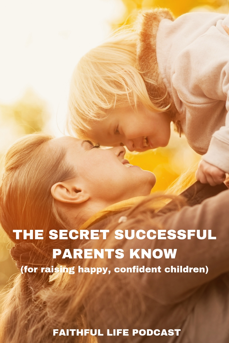 All parents want happy, well-adjusted kids but that's not very common because most parents spend too much time disciplining rather than understanding the key to successful parenting. With this new understanding, discipline becomes far less necessary. Do you know the key, the secret to successful parenting?  via @faithful_man